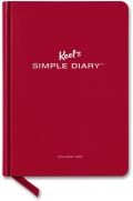 Keel's Simple Diary Volume Two (dark red)