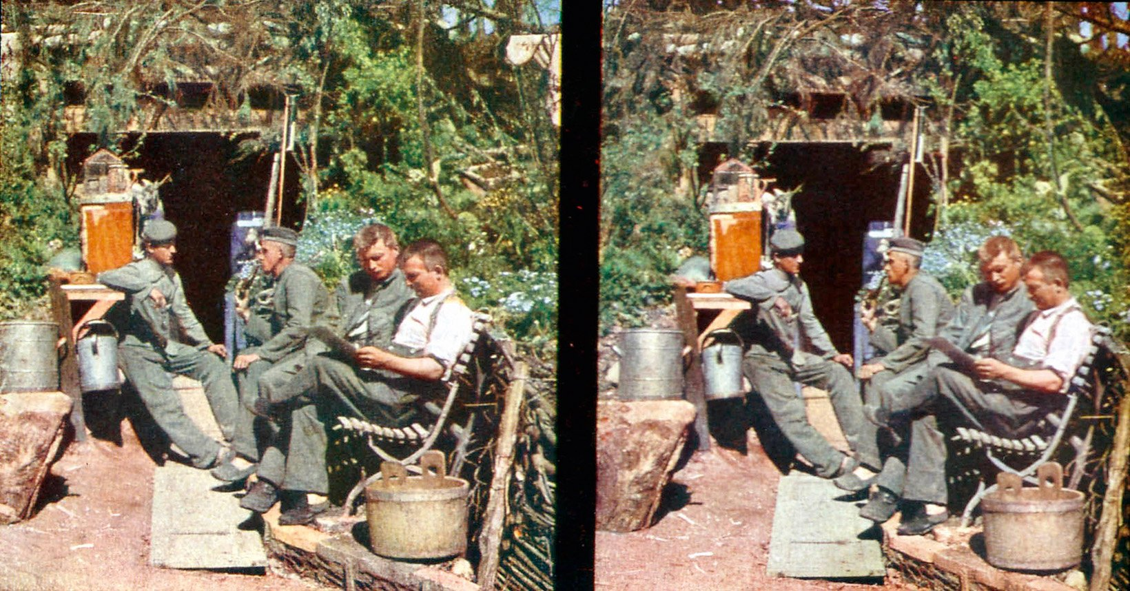 When Were The First Color Photographs Taken