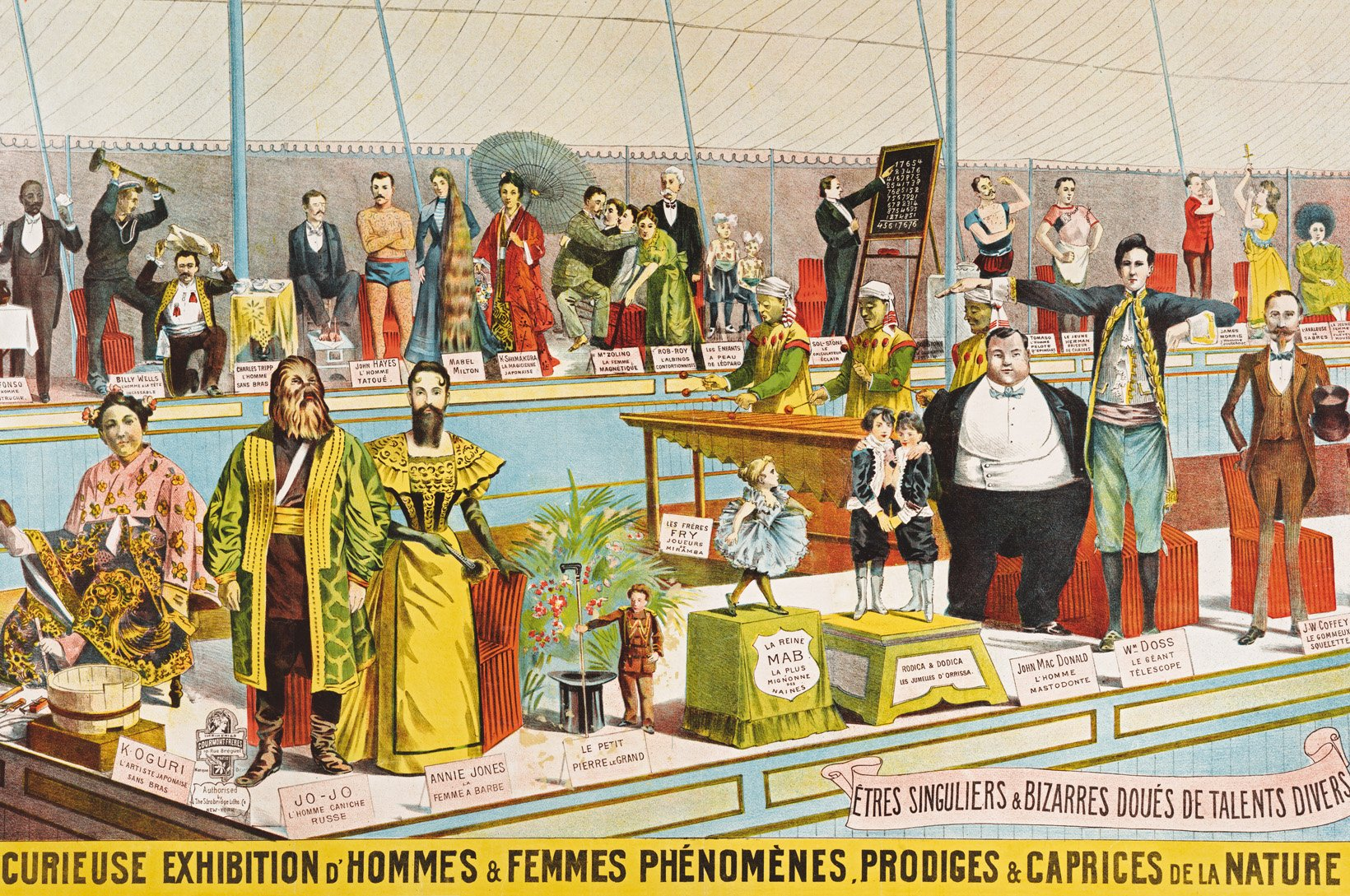the circus  1870