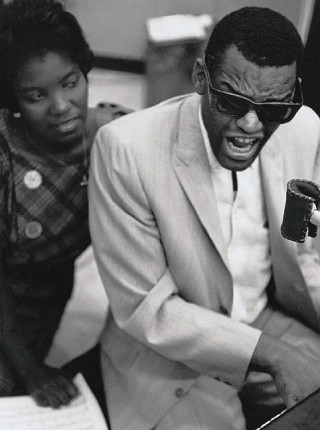 Ray Charles, New York City. (c) William Claxton