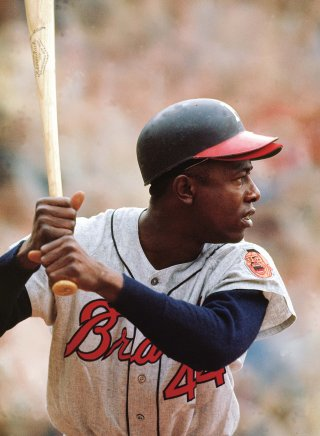 Hank Aaron, # 2 all-time alphabetically