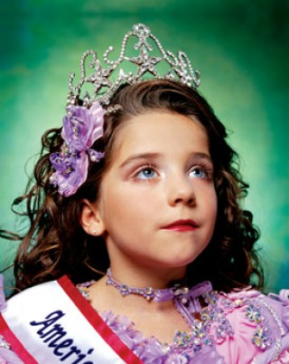 Jewel-Joy Stevens, America's Little Yankee Miss, 2003.<br /> (c) A. Serrano