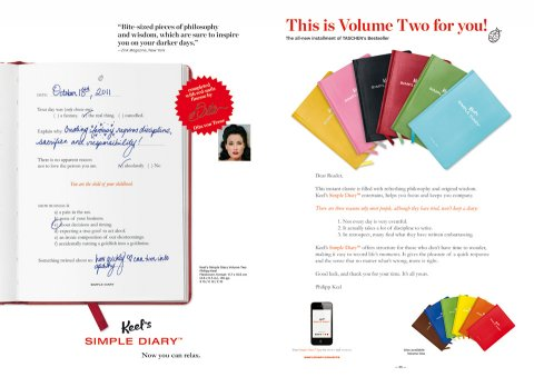 Keel's Simple Diary Volume Two (pink)