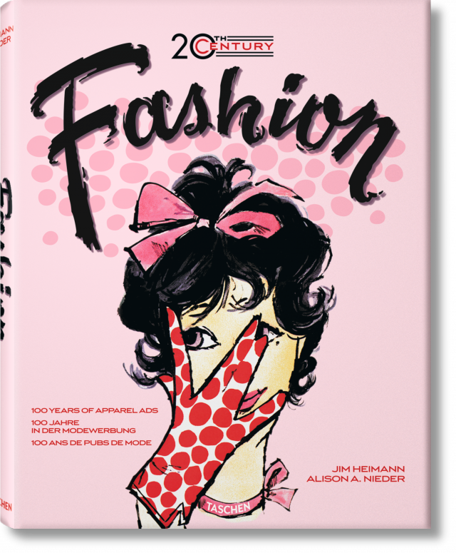 Fashion Book Cover Ups : Th century fashion years of apparel ads taschen books