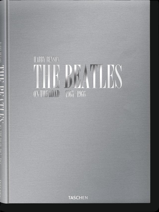 Book Cover Black Beatles ~ Harry benson the beatles limited edition libros taschen