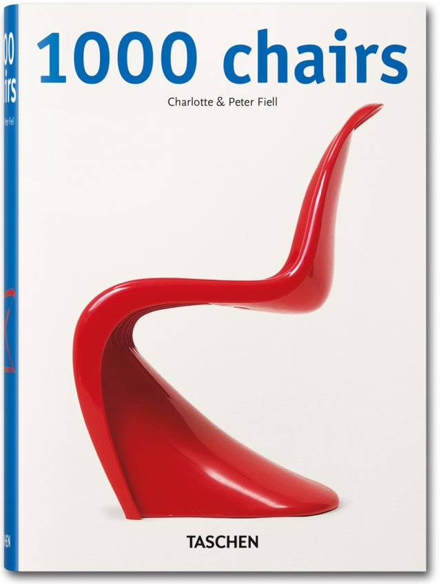 1000 Chairs (Taschen 25), Fiell, Charlotte and Fiell, Peter, Used; Very Good Book