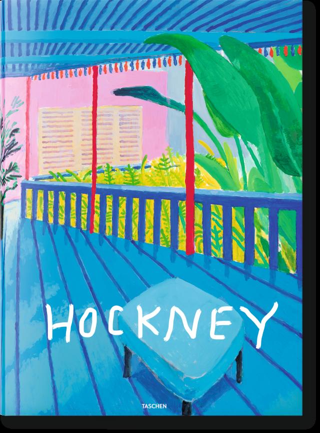 delve into david hockney s oeuvre a bigger book taschen books. Black Bedroom Furniture Sets. Home Design Ideas