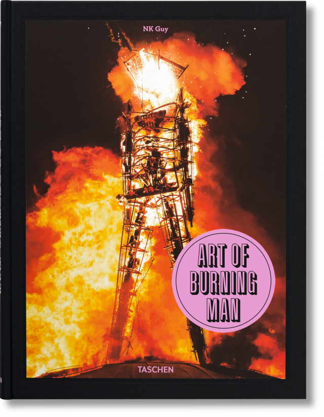 nk guy art of burning man taschen books. Black Bedroom Furniture Sets. Home Design Ideas