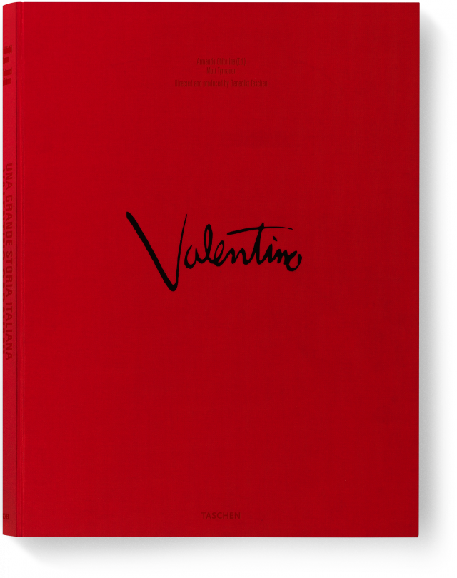 valentino garavani una grande storia italiana limited edition taschen books. Black Bedroom Furniture Sets. Home Design Ideas