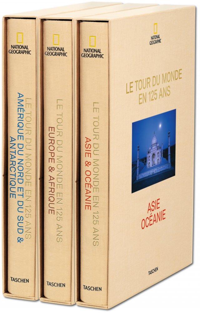 national geographic le tour du monde en 125 ans livres taschen xl format. Black Bedroom Furniture Sets. Home Design Ideas