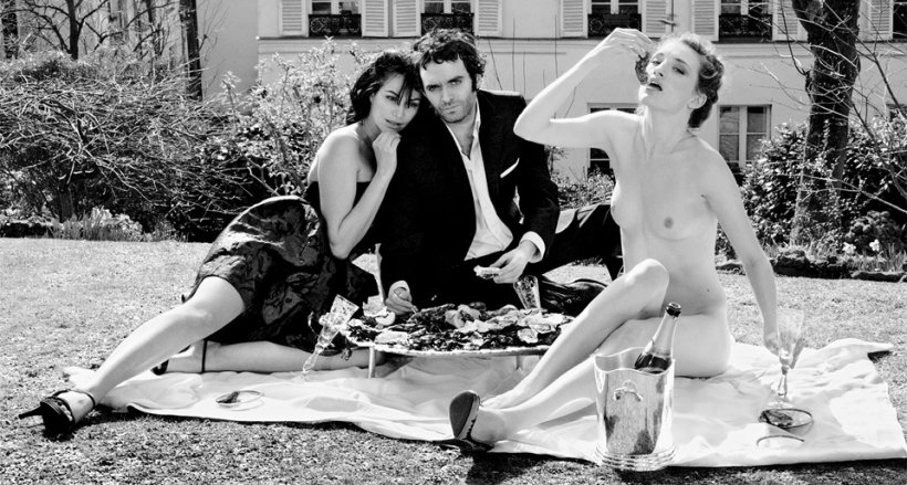 Bettina Rheims/Serge Bramly. Rose - c'est Paris