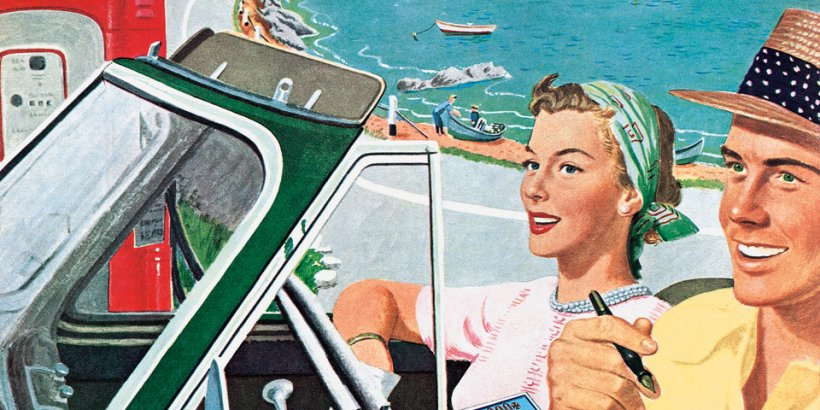 20th Century Travel: 100 Years of Globe-Trotting Ads