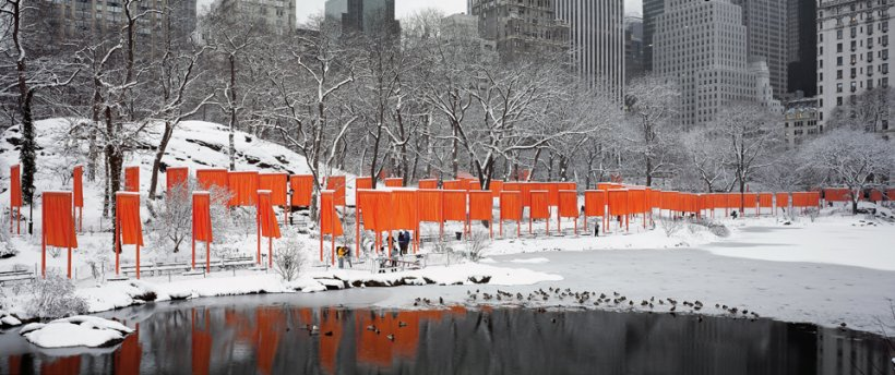 Christo & Jeanne-Claude. The Gates