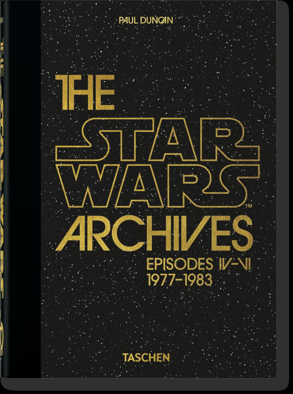 The Star Wars Archives 1977 1983 40th Anniversary Edition Taschen Books