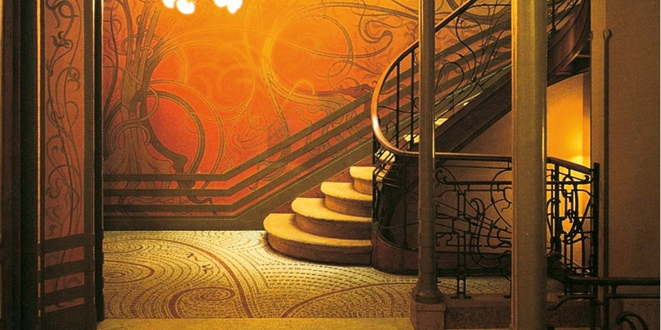 Erika flores ibarra arte y cultura i ii modernismo Art nouveau arquitectura